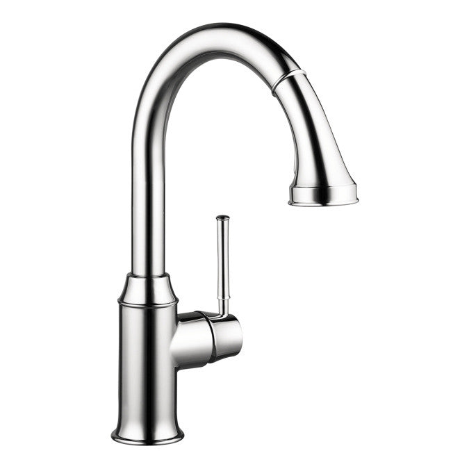 Hansgrohe 04215000 Chrome Talis C Pull-Down Kitchen Faucet – Mega ...
