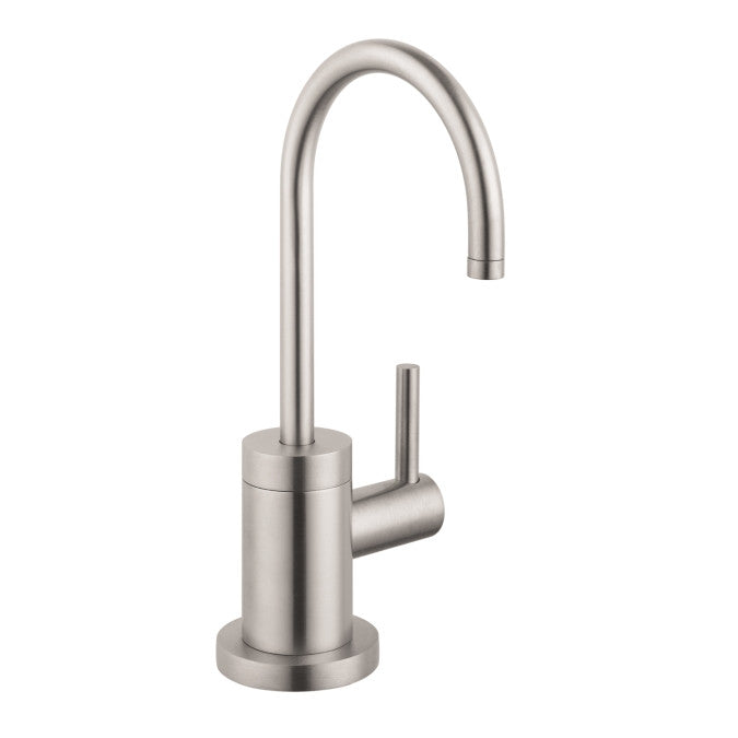 Hansgrohe 04301800 steel Optik Talis S Cold Only Beverage Faucet ...