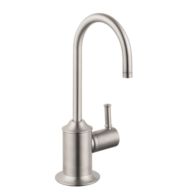 hansgrohe steel optik talis c cold only beverage faucet mega supply store 1