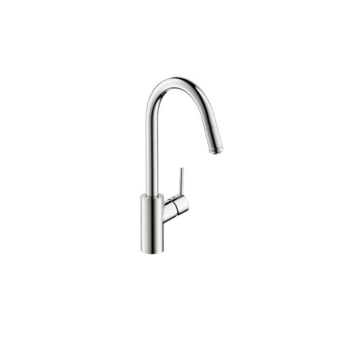 Hansgrohe 14872001 Chrome Talis S Pull Down Kitchen Faucet
