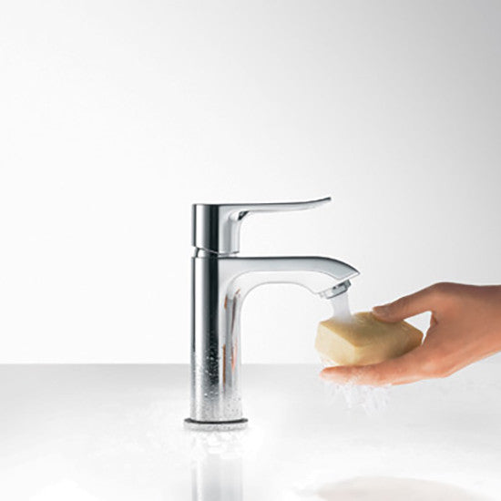 hansgrohe bathroom faucet.  Hansgrohe 31080001 Chrome Metris Bathroom Faucet Single Hole with Lever Handle Mega Supply Store