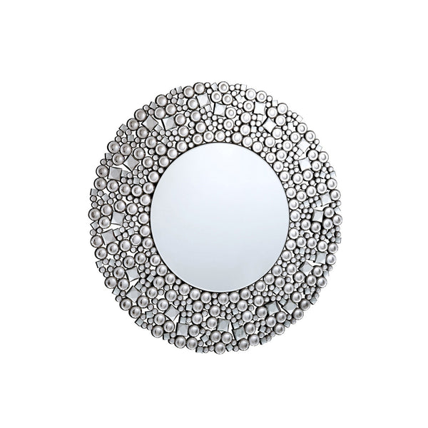 "Elegant Lighting MR-3063 Modern Crystal Mirror 35.5"" D Clear, Modern Collection - Mega Supply Store"