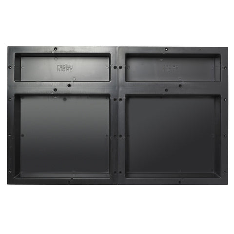 Tile Redi RNQH1620DU-20DU Quad Niche Shelving Set containing 2 RN1620D Double Niches - Mega Supply Store