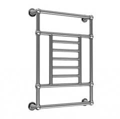 "Artos T-IWALLH-CH Isis 34"" x 26"" Wall Mount Towel Warmer Hydronic (Traditional Valves) in Chrome - Mega Supply Store"