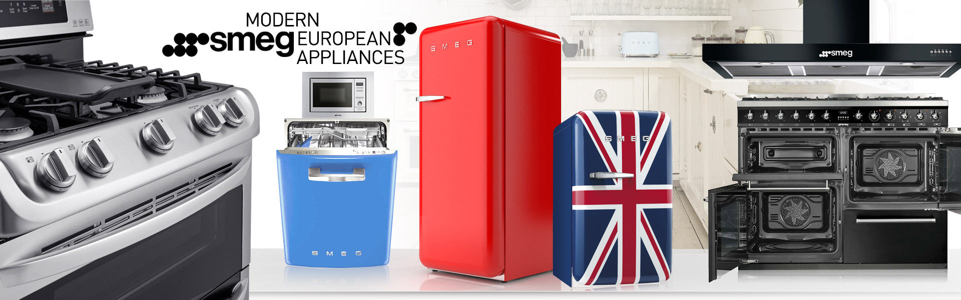 Smeg Appliances at Mega Supply Store
