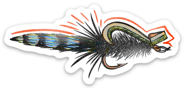 "3"" Gurgler Fly Decal!"