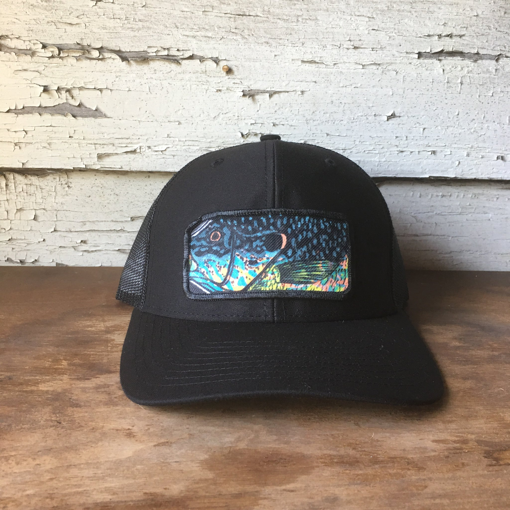 Original Hand Drawn Pumkinseed Fish Hat