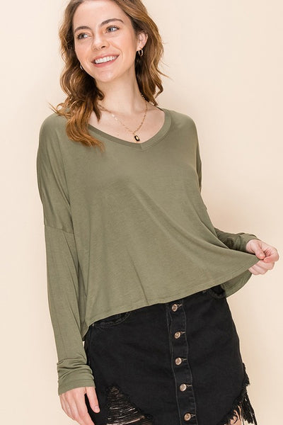 Soft Touch Long Sleeve Tee