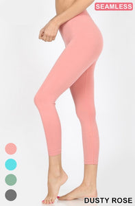 Basics Collection: Mid Calf Seamsless Leggings
