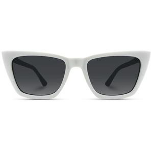 Prestige White Sunglasses