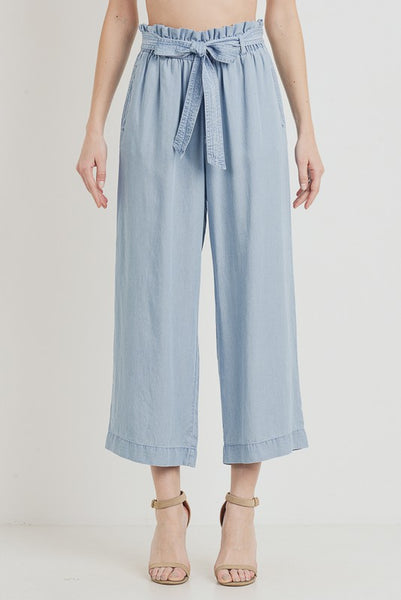 Tencel Wide Cullote pants