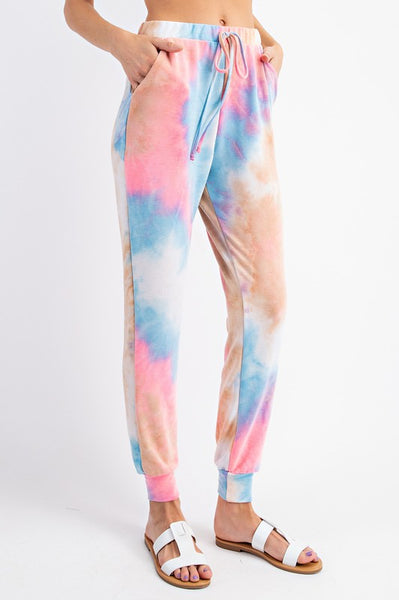 Space Candy Tie Dye Jogger Pants