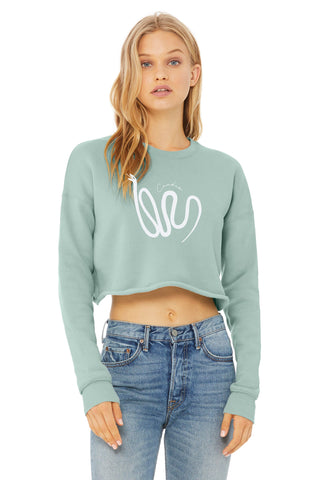 Daemon Cropped Sweatshirt