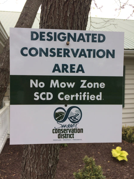 Designated Conservation Area Sign