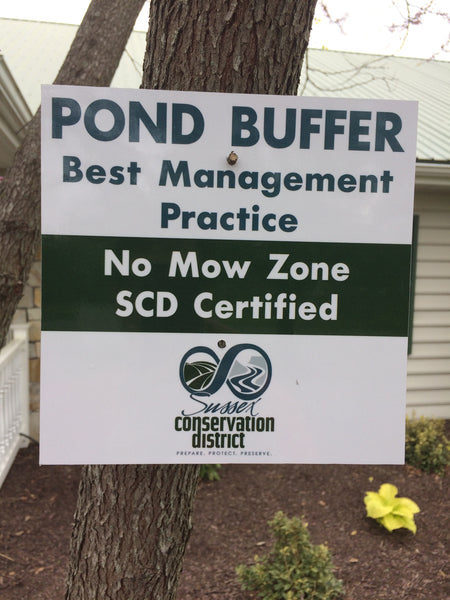 Pond Buffer Signs