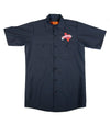 Official The Texas Bucket List Button Up - Navy