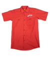 Official The Texas Bucket List Button Up - Red
