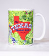 The Official Texas Bucket List - Bluebonnet Mug
