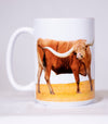 The Official Texas Bucket List - Longhorn Mug