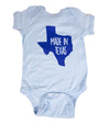 Made In Texas Onesie - Blue