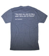 Davy Crockett T-Shirt - Heather Navy