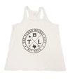 The Texas Bucket List Ladies Tank, White