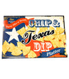 Texas Flag Chip Bowl