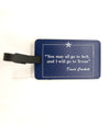 Davy Crockett Luggage Tag