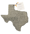 Etched Texas Cheese Board
