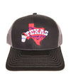The Texas Bucket List Official Cap - Black & Gray