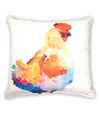 Colorful Chicken Pillow