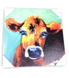 Cow Canvas Wall Decor (Large)