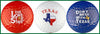 Texas Pride Golf Balls