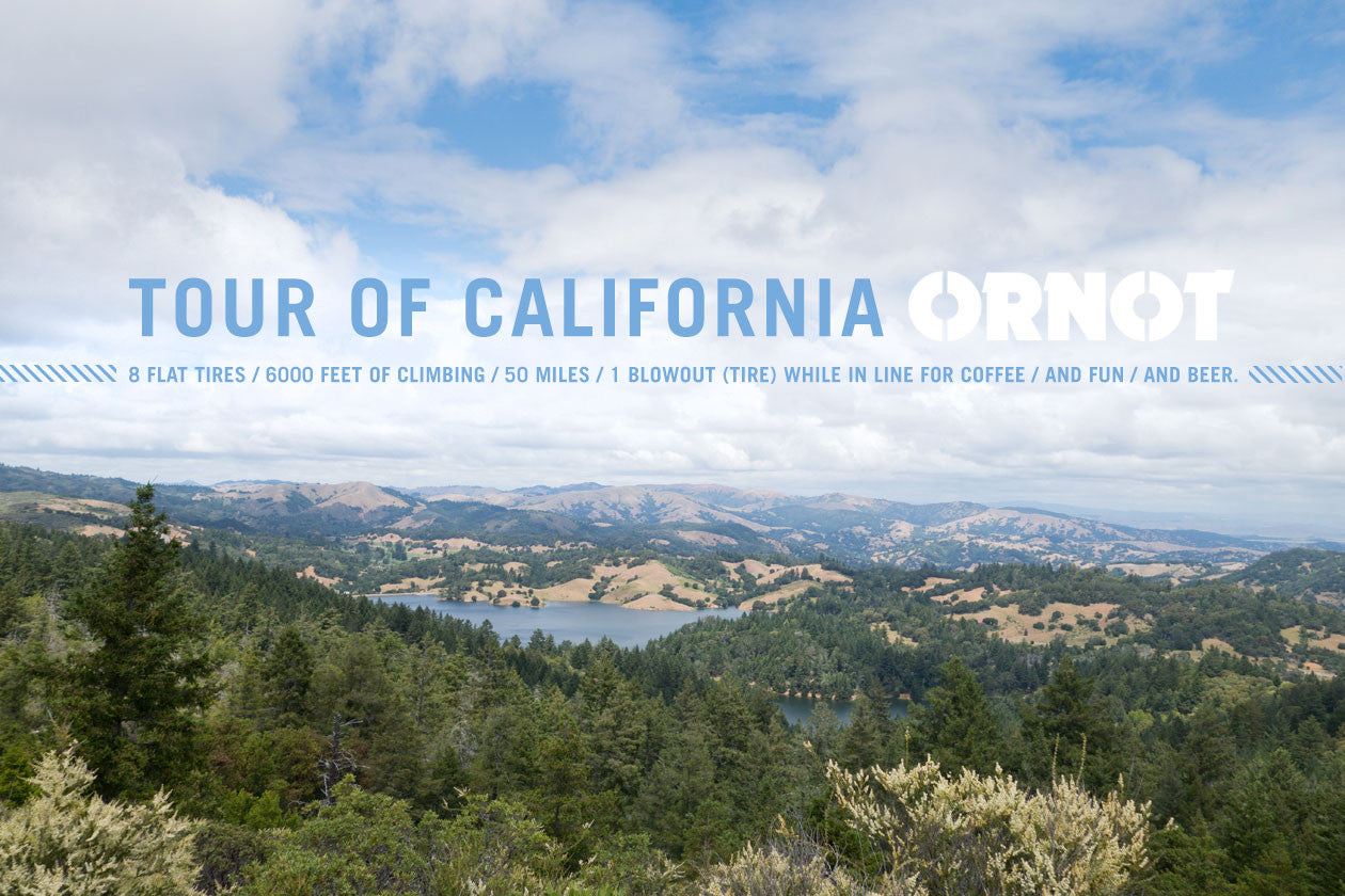 Tour of California, Ornot.