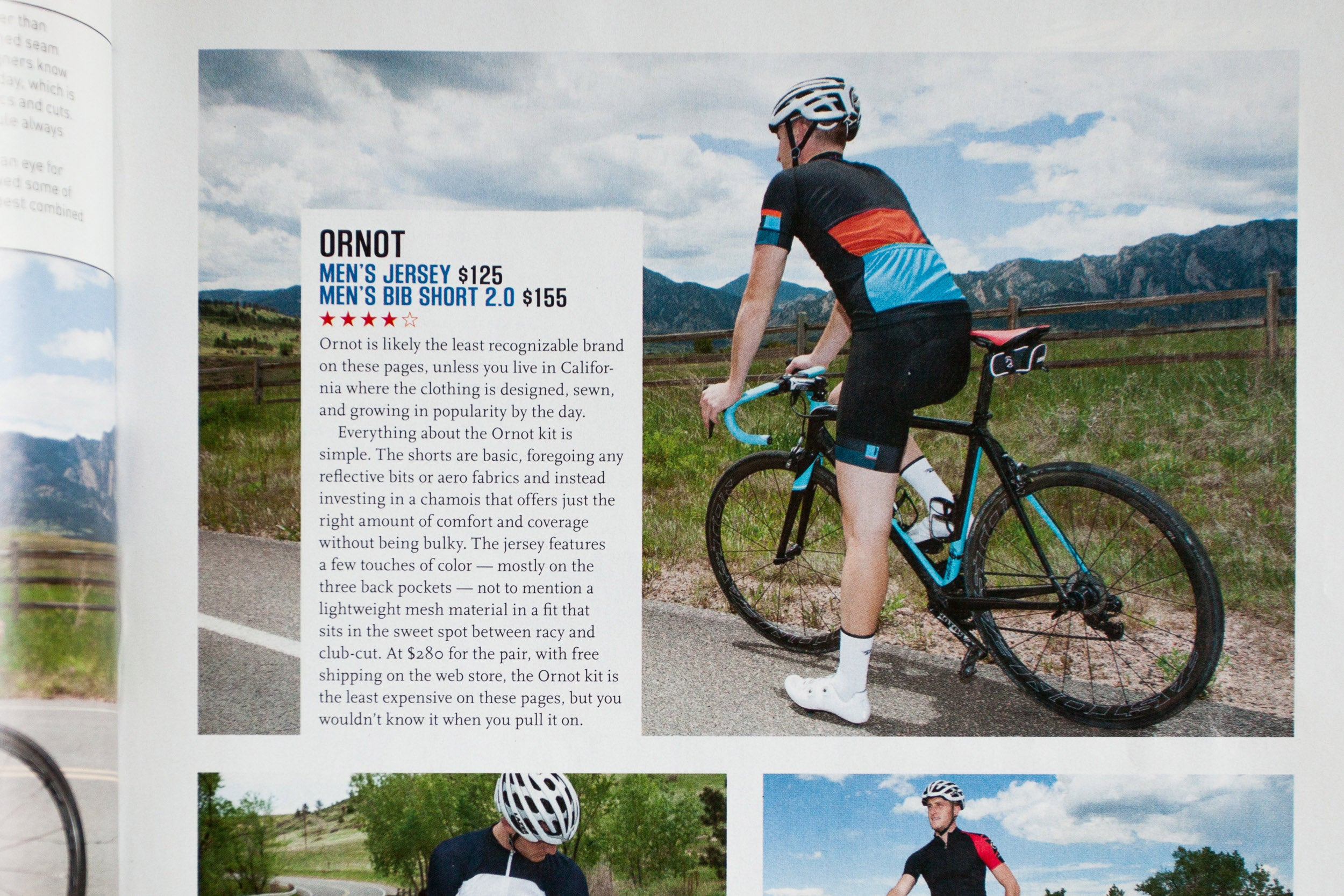 f0a68b32b Ornot Men s Jersey Bib Shorts 2.0 Velo News Review. Velo Magazine - Ornot