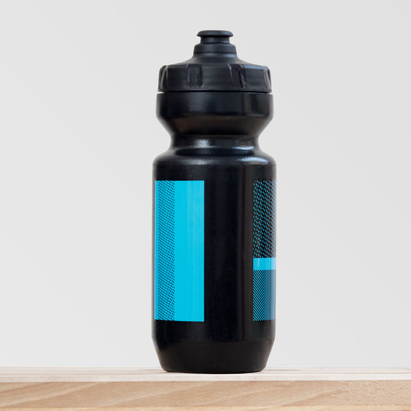 Black and Blue Bottle
