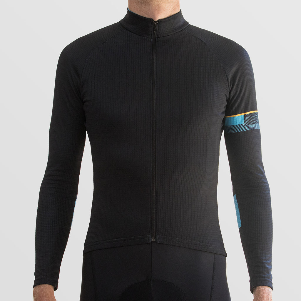 Classic Black Long Sleeve Jersey
