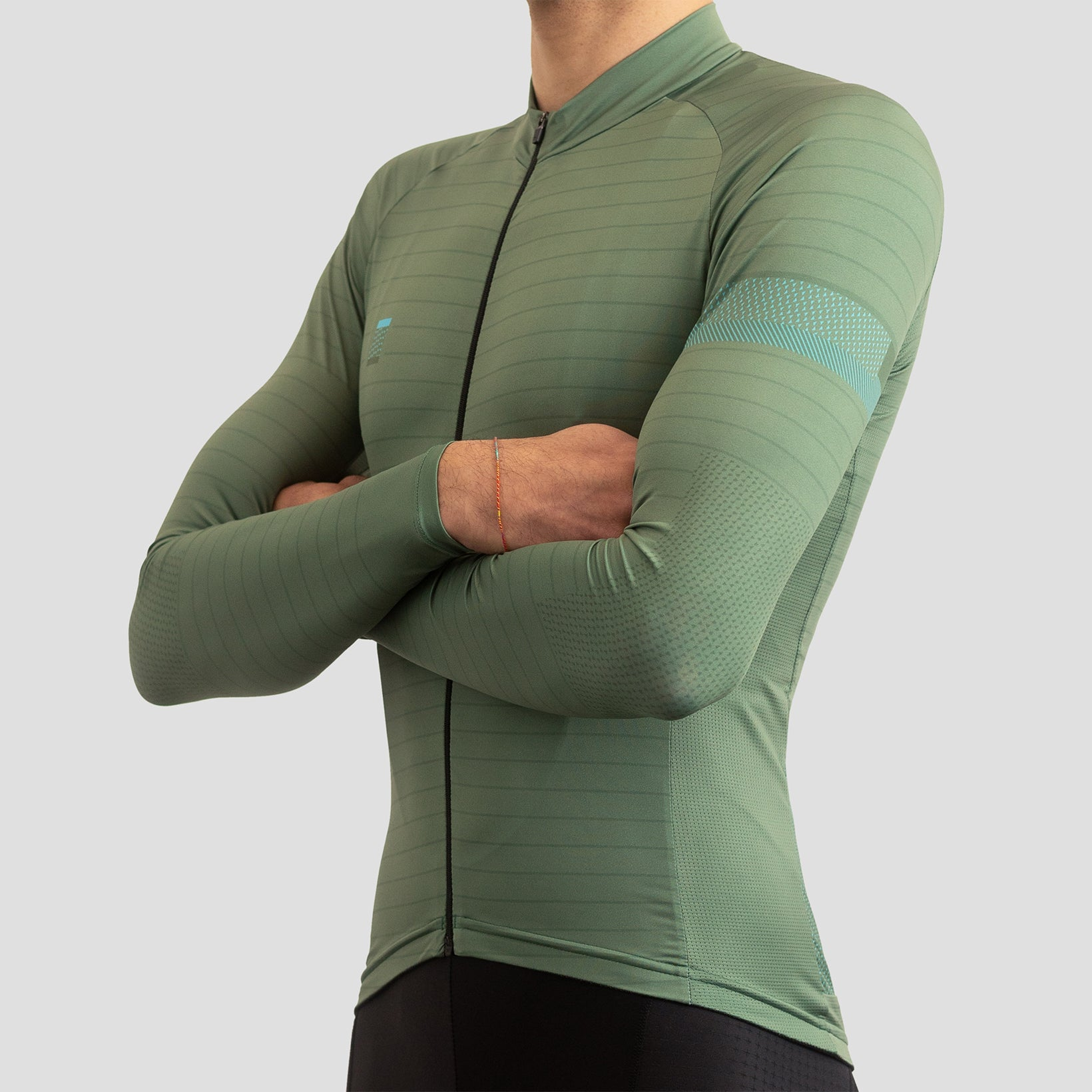 Olive - LS Lightweight House Jersey