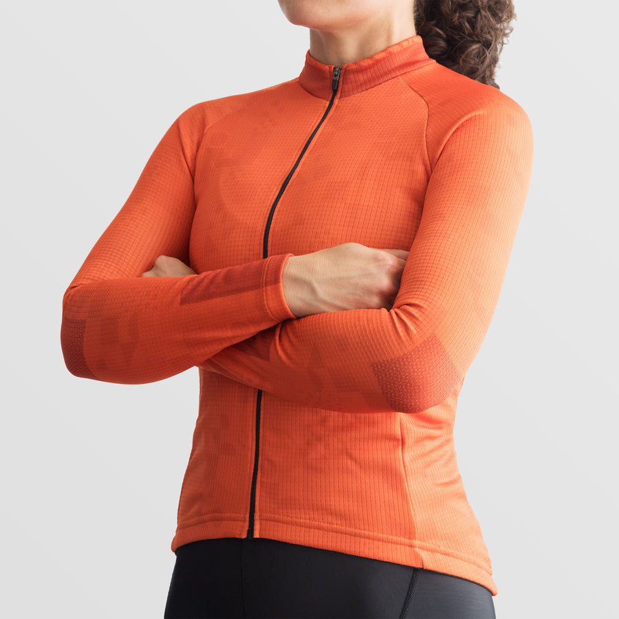 Womens Code Thermal Jersey - Orange