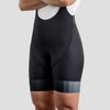 Womens House Bib Shorts - Gray Block