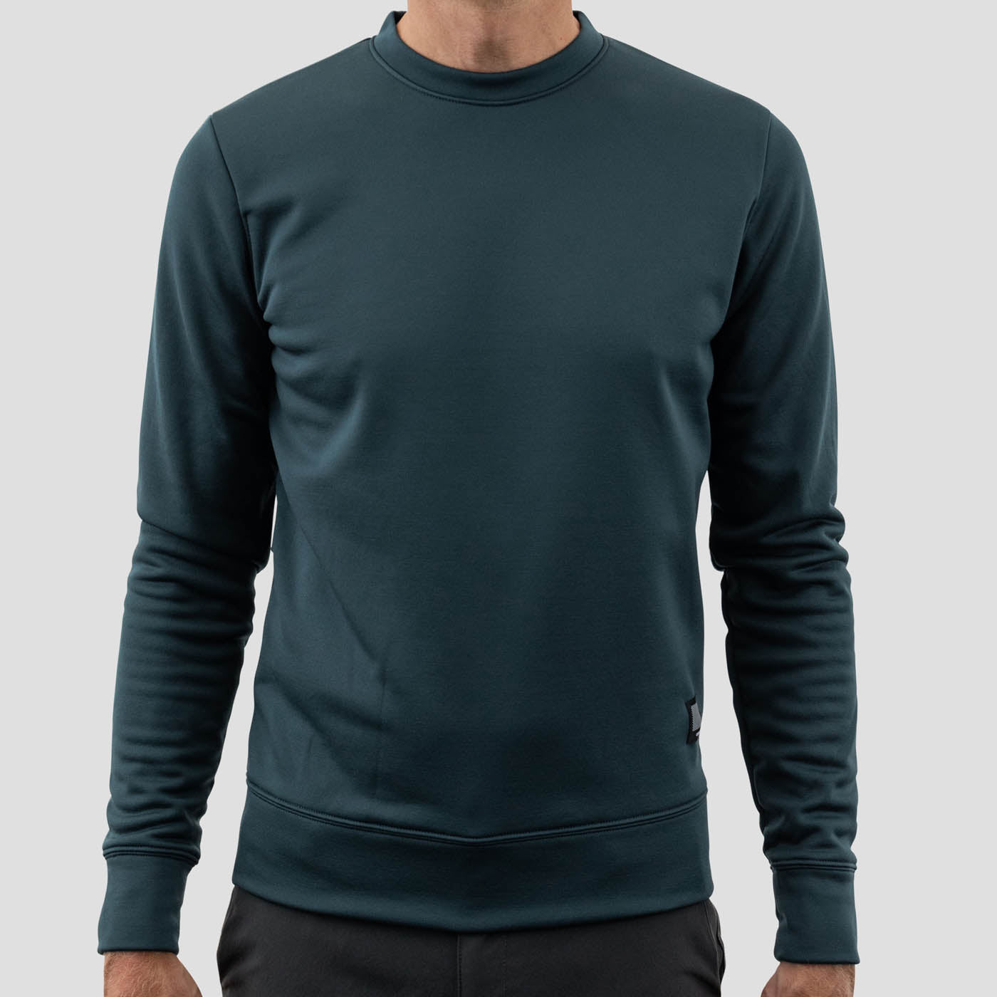 Merino Sweatshirt - Stone Blue (Xs Only)