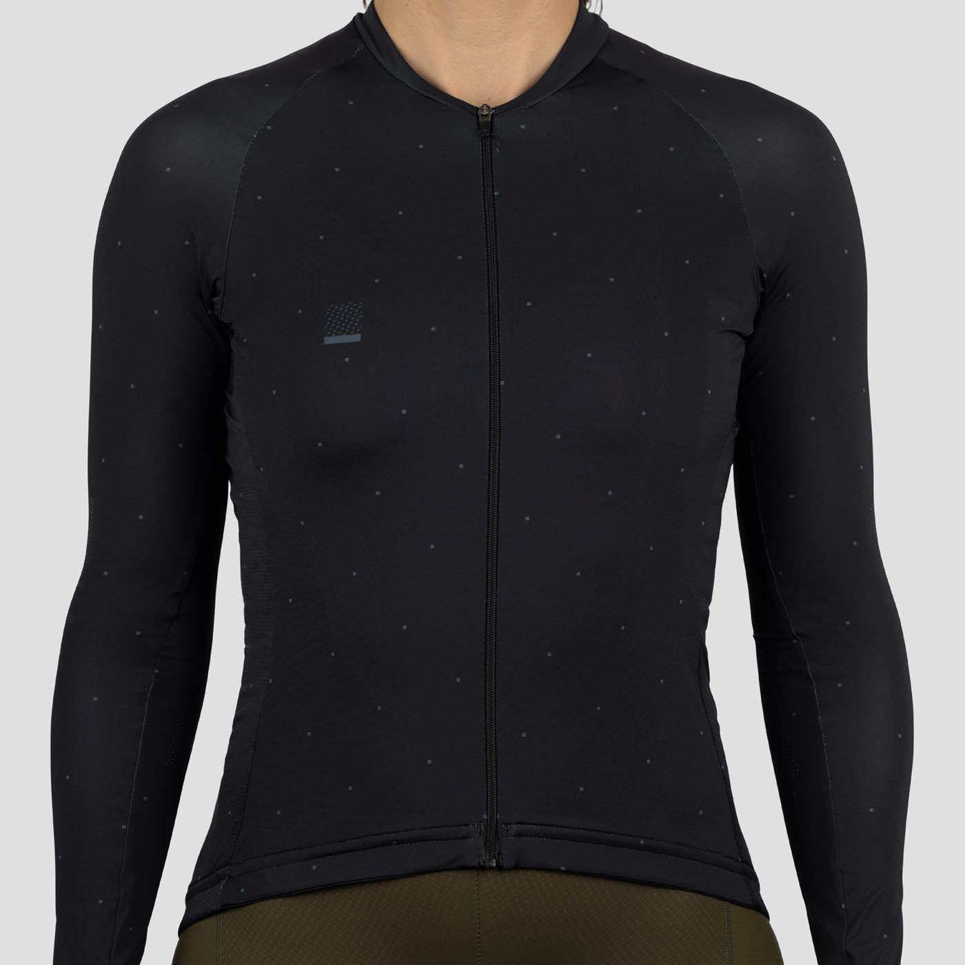 Womens LS Lightweight House Jersey - Black