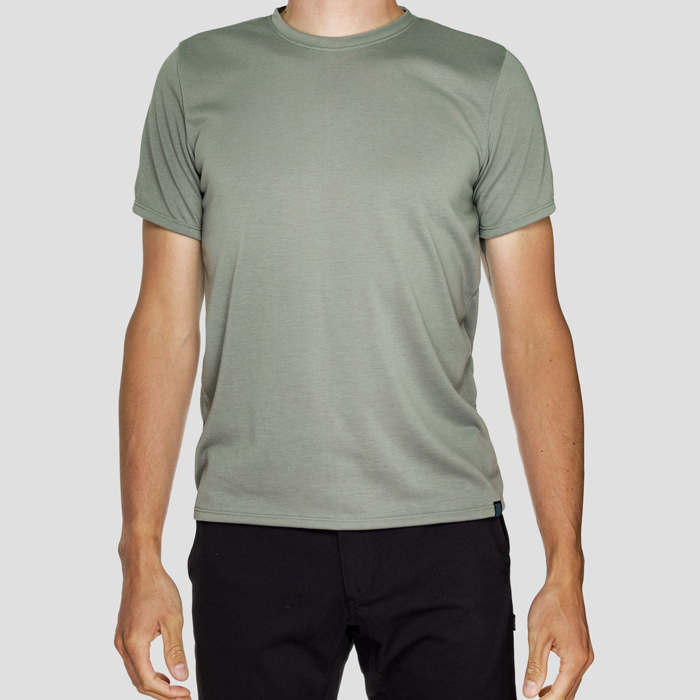 Recycled Tech Shirt - Sage