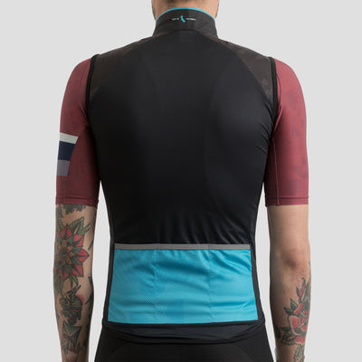 House Wind Vest - Block Black