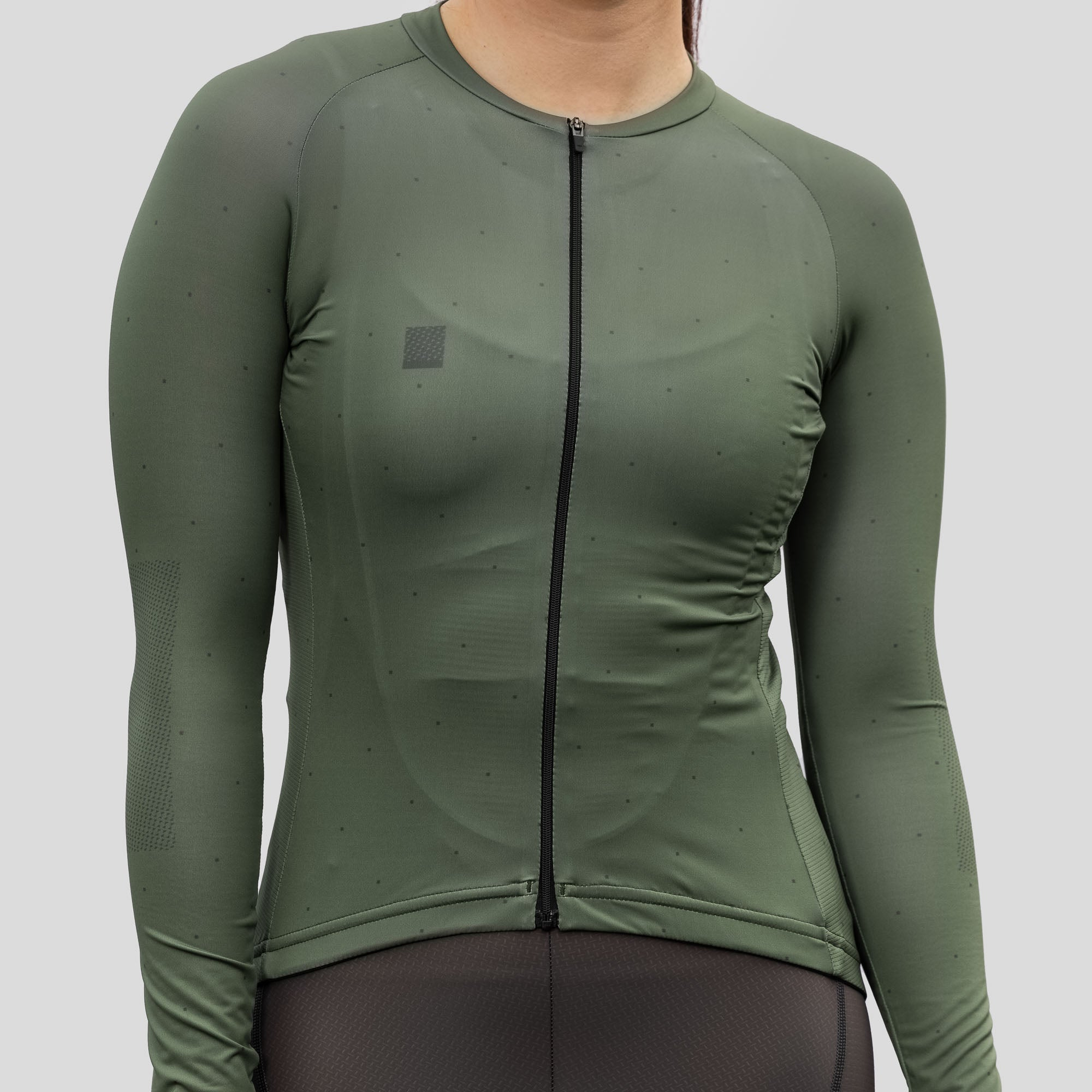 Womens LS Lightweight House Jersey - Olive