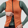 Womens House Wind Vest - Coastal Orange
