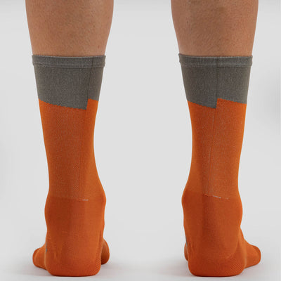 Coastal Bolt Orange Sock