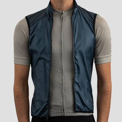 House Wind Vest - Stone Blue