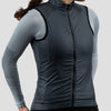 Womens House Wind Vest - Stone Blue
