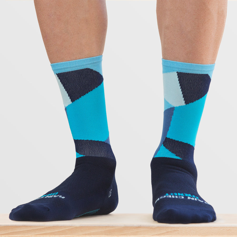 Intersection Blue Sock